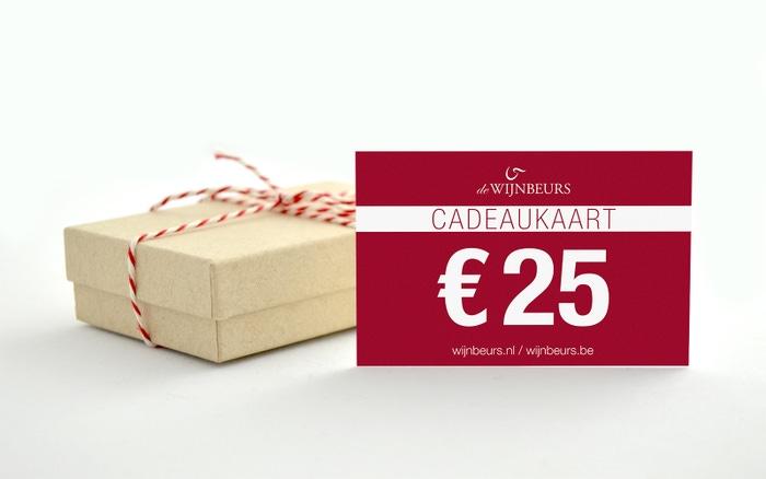 Cadeaukaart 25 euro