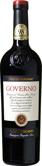 Duca di Saragnano Governo Rosso Toscana