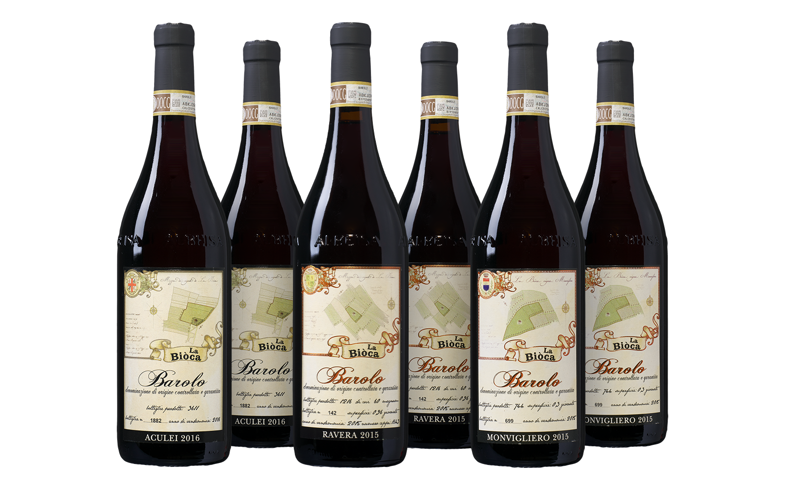 La Biòca Barolo Collectie