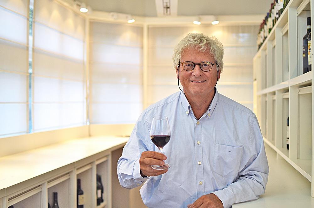 Het wijnbeurs proefpanel Franz