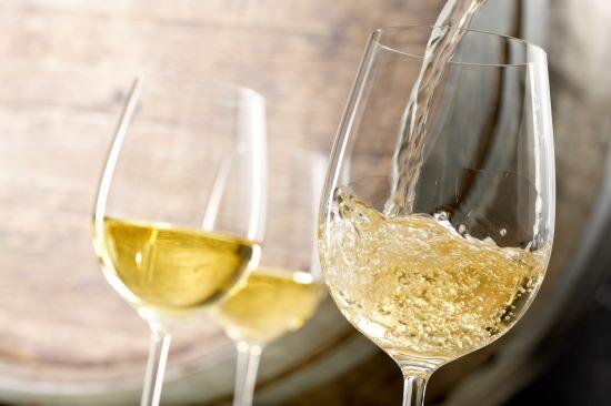 Italiaanse witte wijn aanbieding