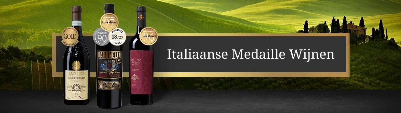 Italiaanse Medaille Wijnen