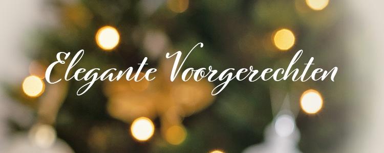 Kerstwijnen - Elegante voorgerechten
