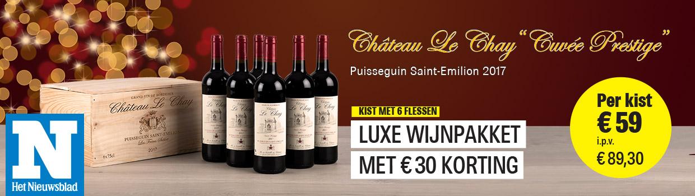Chateau Le Chay - Het Nieuwsblad header