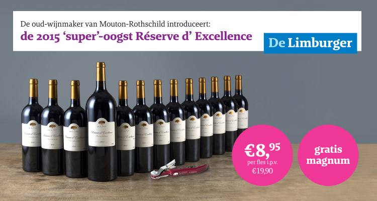 Oud wijnmaker van Mouton-Rothschild presenteert: Réserve d'Excellence
