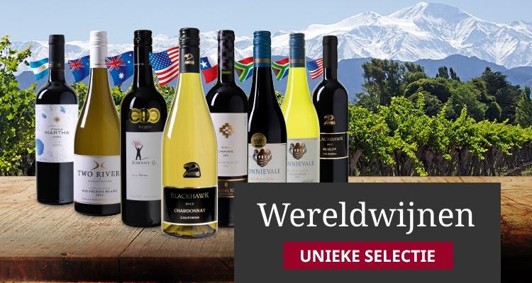 Unieke selectie Wereldwijnen