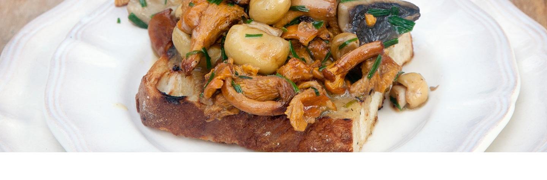 Recept bruschetta paddenstoelen