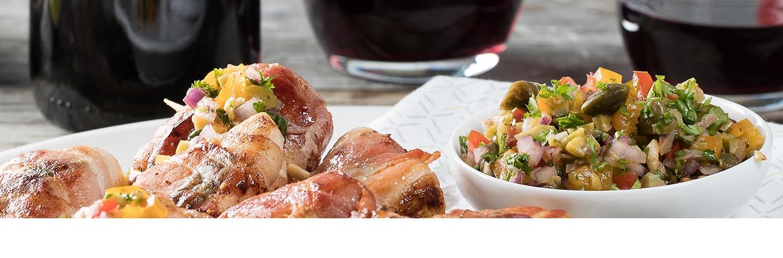 Recept kip saltimbocca