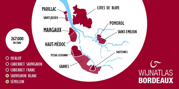 Infographic Bordeaux
