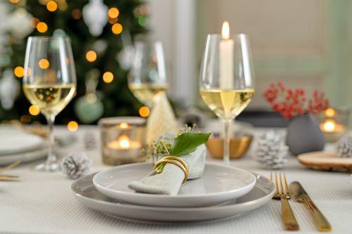 Servetringen kerst