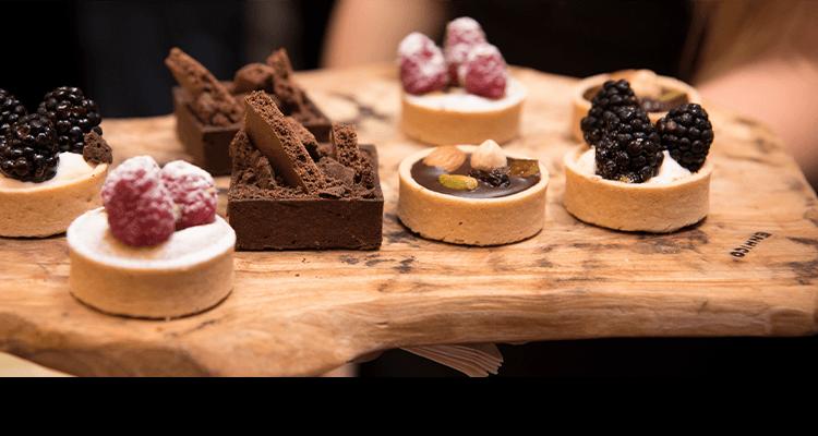 wijn en desserts